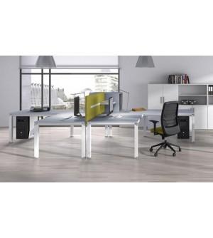 Mesas de cristal diseño minimalista