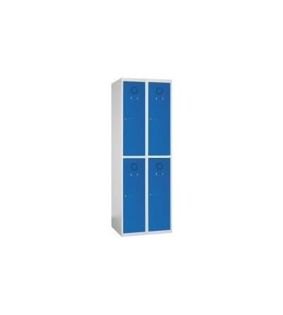 Taquilla de 4 puertas pequeñas