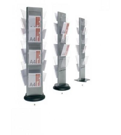 Expositor personalizable para revistas, catálogos y folletos de publicidad
