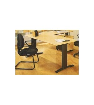 Mesa de oficina recta 100*80*74