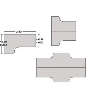 Mesa compacta 160*120*80*74