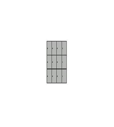 Taquillas casillero de 12 puertas