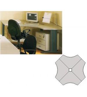 Mesa de oficina múltiplo 120*85*60*74