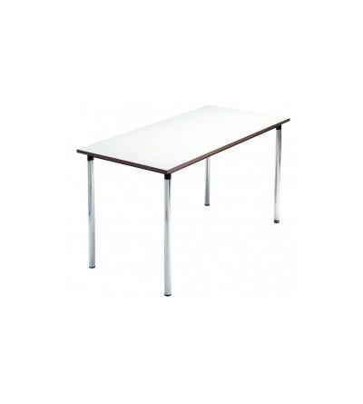 Mesa escolar recta