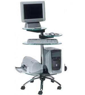 Mesa de ordenador móvil