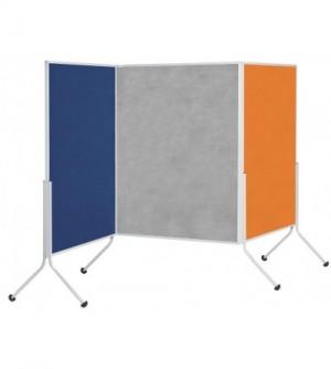 Biombo tapizado en ARAN de 120 X 195 cm.